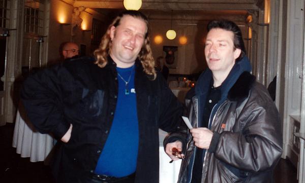 Tom und Steve Hackett