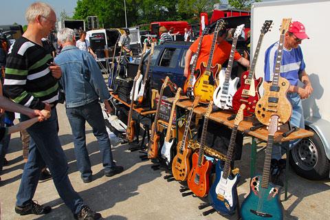 Musik produktiv flohmarkt