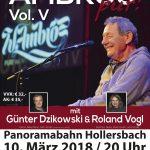 WOLFGANG AMBROS – Live am 10. März 2018 in Hollersbach im Pinzgau