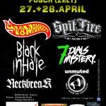 Rockfest Fusch an der Glocknerstraße / Salzburg 27. / 28. April 18 – Pflichttermin
