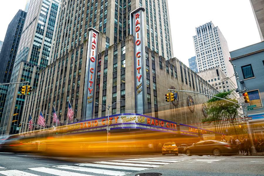 RADIO CITY MUSIC HALL New York City – Jüx Hummer war dort und hat ...