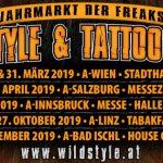 WILDSTYLE & TATTOO MESSEN 2019 – alle ersten Infos und alle Termine! Let's get wild!!!