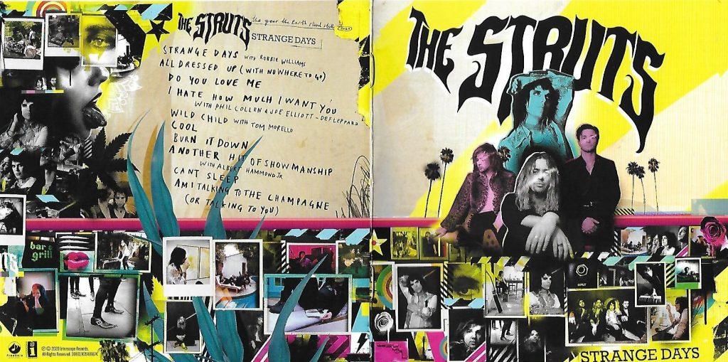 """THE STRUTS – """"Strange Days"""" mit einigen unerwarteten Gästen (CD-Review)"""